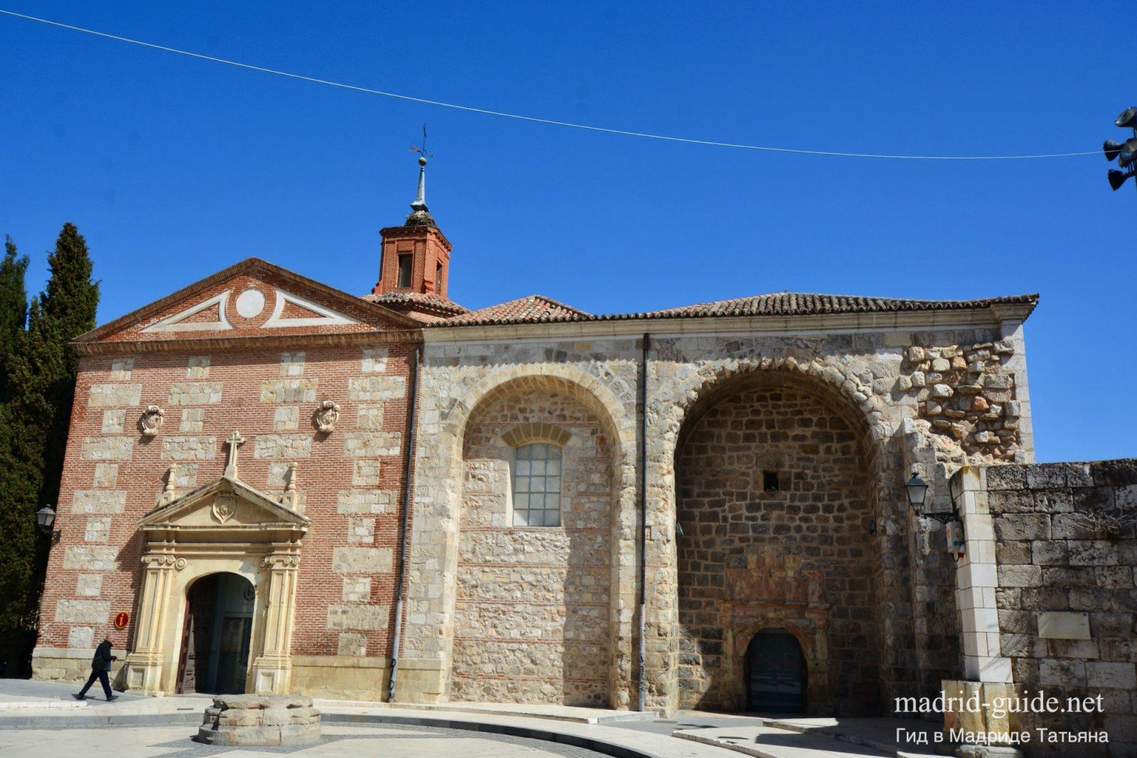 останки церкови Святой Марии