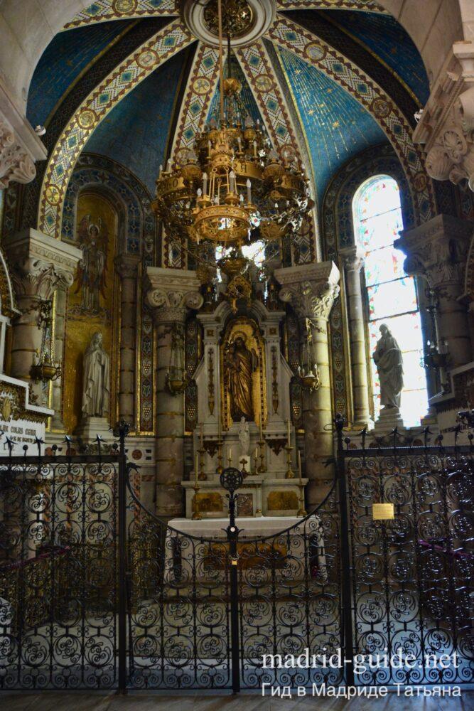Крипта Кафедрального собора Мадрида