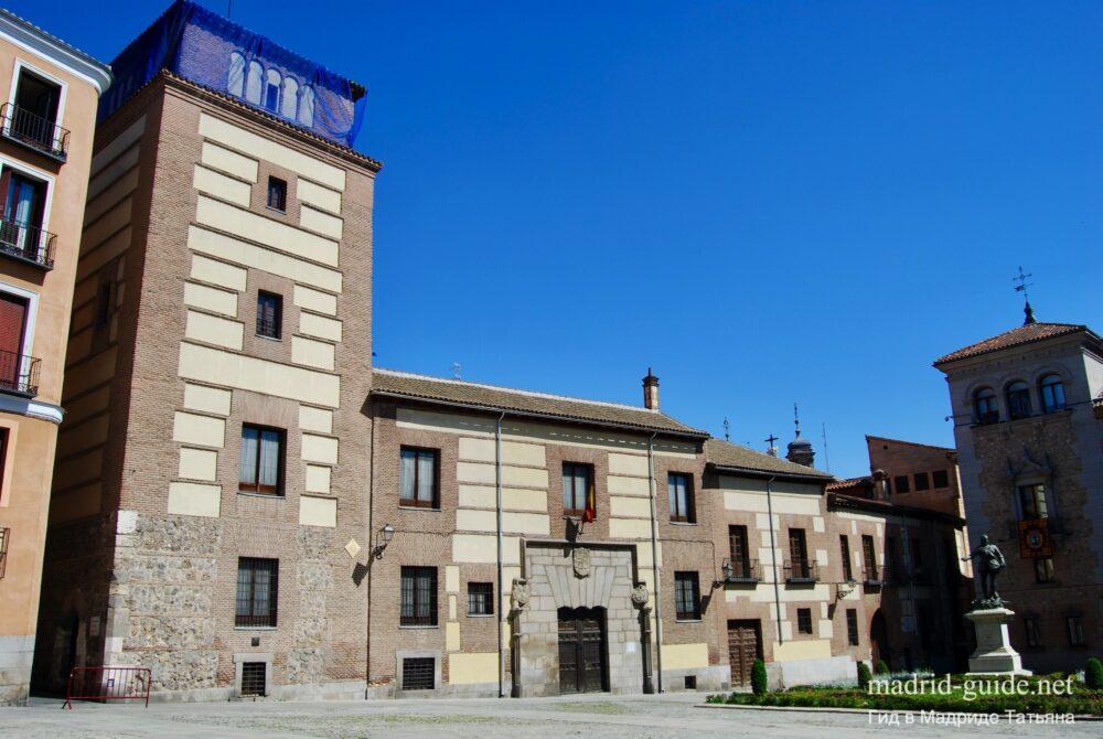 Архитектура Мадрида - дом и башня Луханес