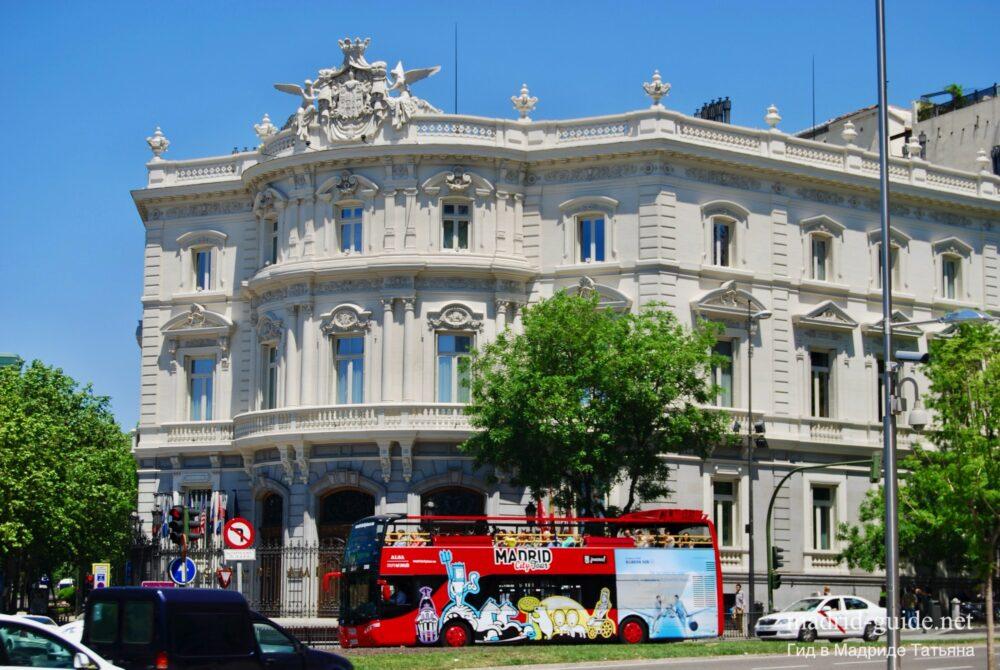 Дворец Линарес (Palacio de Linares) в Мадриде