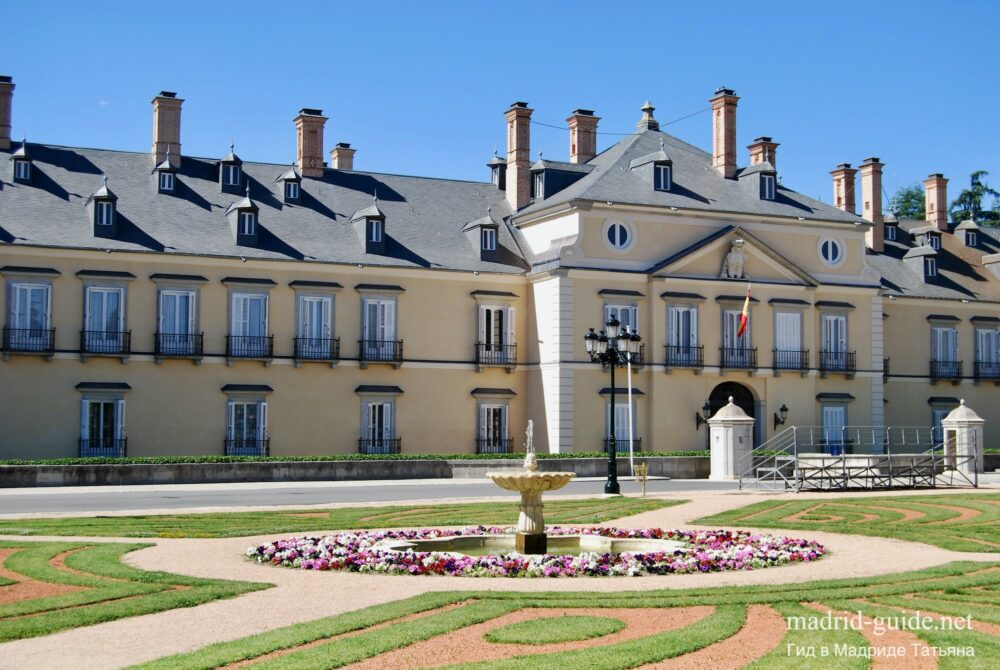 Дворец Эль Пардо в Мадриде