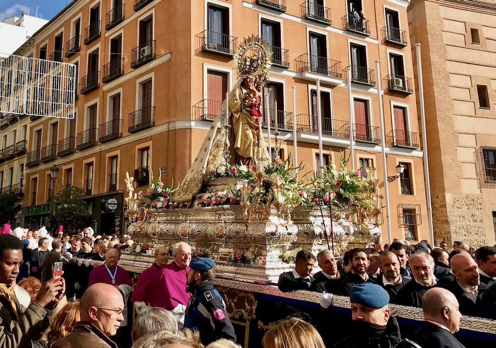 Жители Мадрида