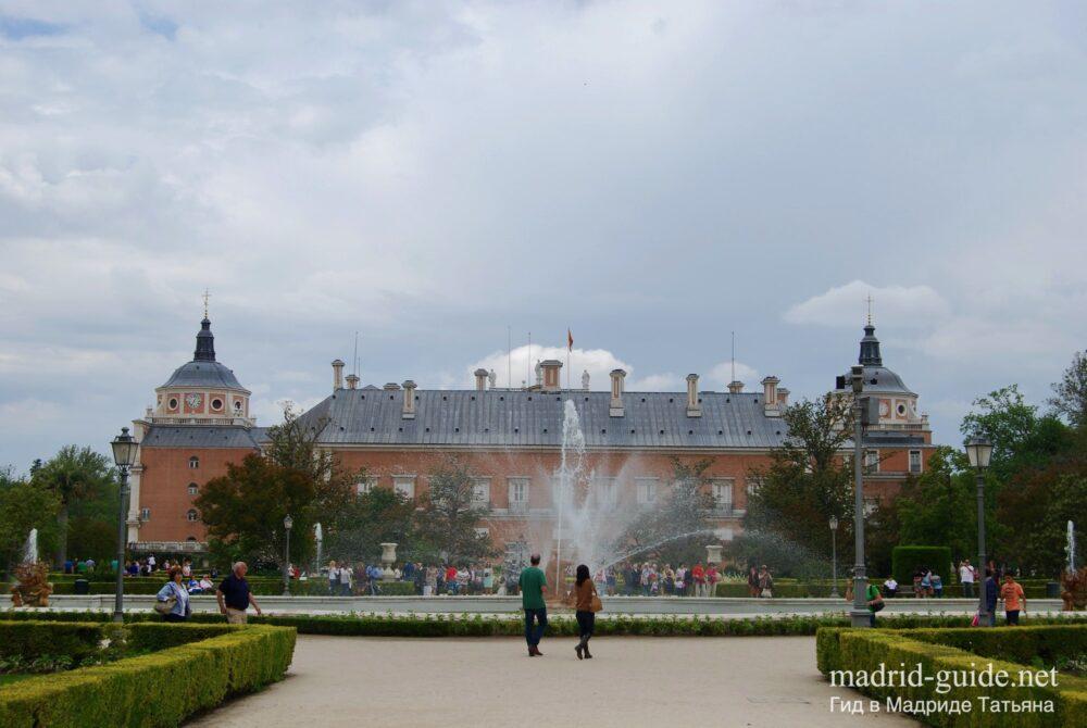 Экскурсия в Аранхуэс - сады Королевского дворца
