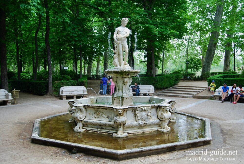 Экскурсия в Аранхуэс - фонтаны
