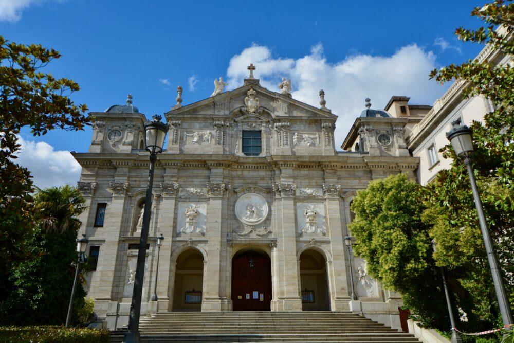 Церкви Мадрида - Санта Барбара