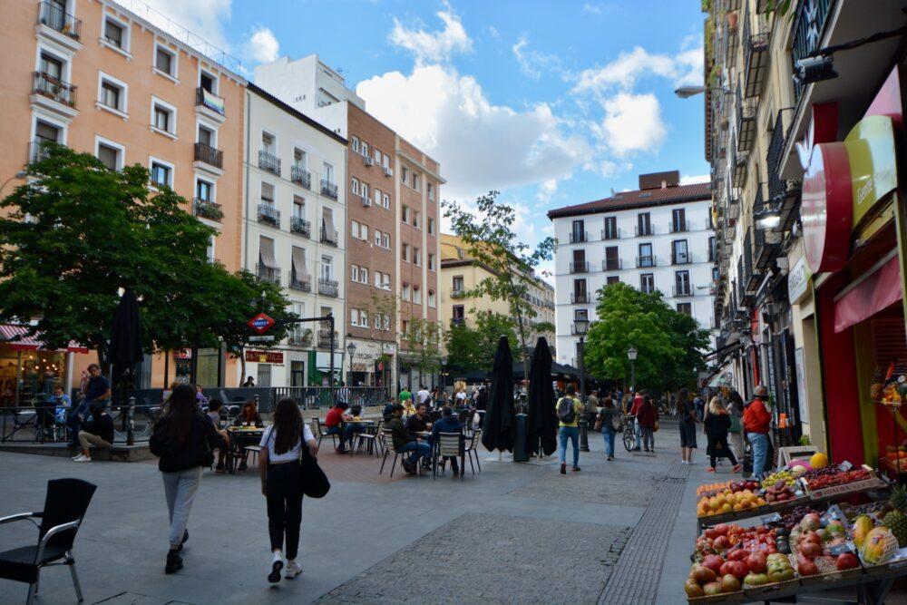 Площадь Чуэка в Мадриде