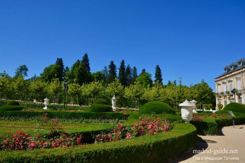 Сады Ла-Гранха-де-Сан-Ильдефонсо