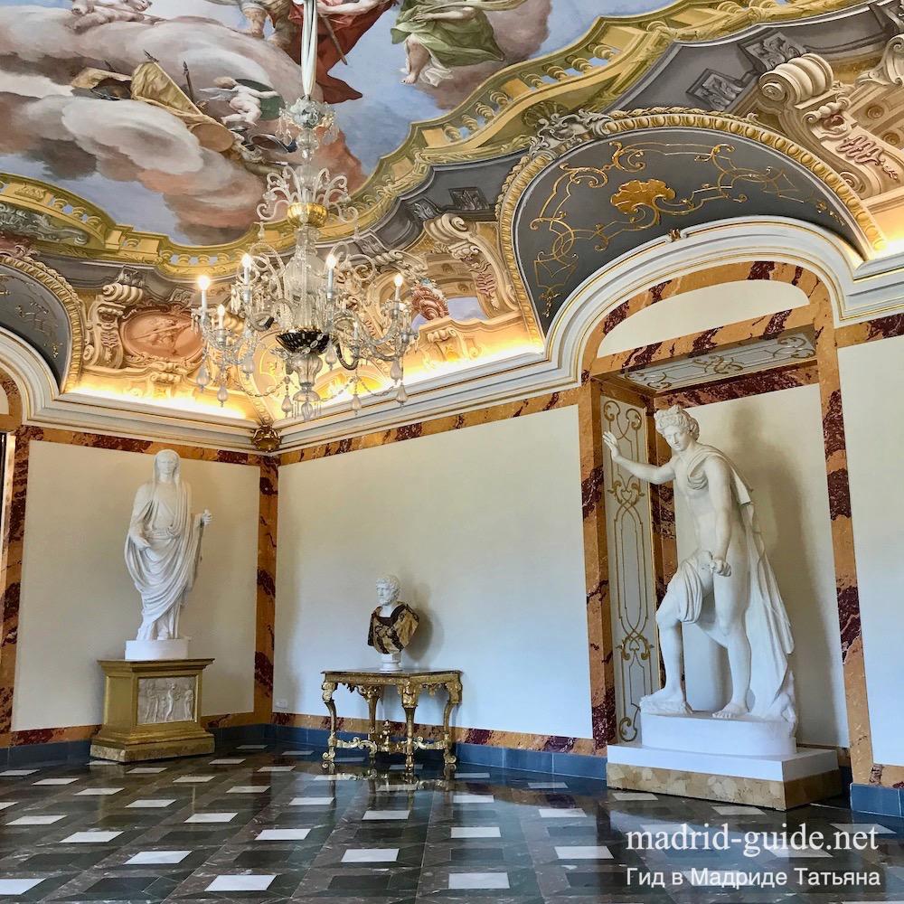 Королевский дворец Ла-Гранха