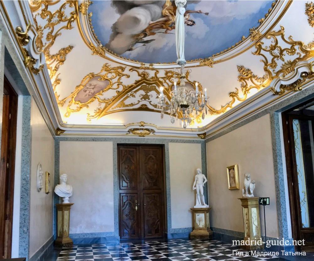 Дворцы королей Испании