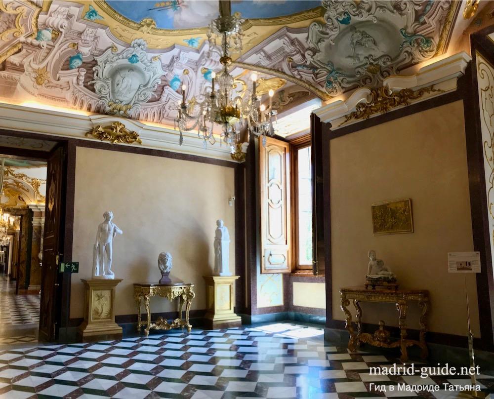 Королевский дворец Ла-Гранха-де-Сан-Ильдефонсо