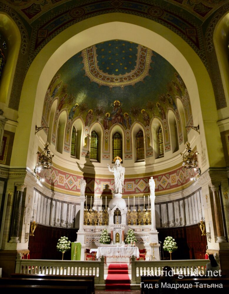 Церкви Мадрида - Святых Мануэля и Бенито