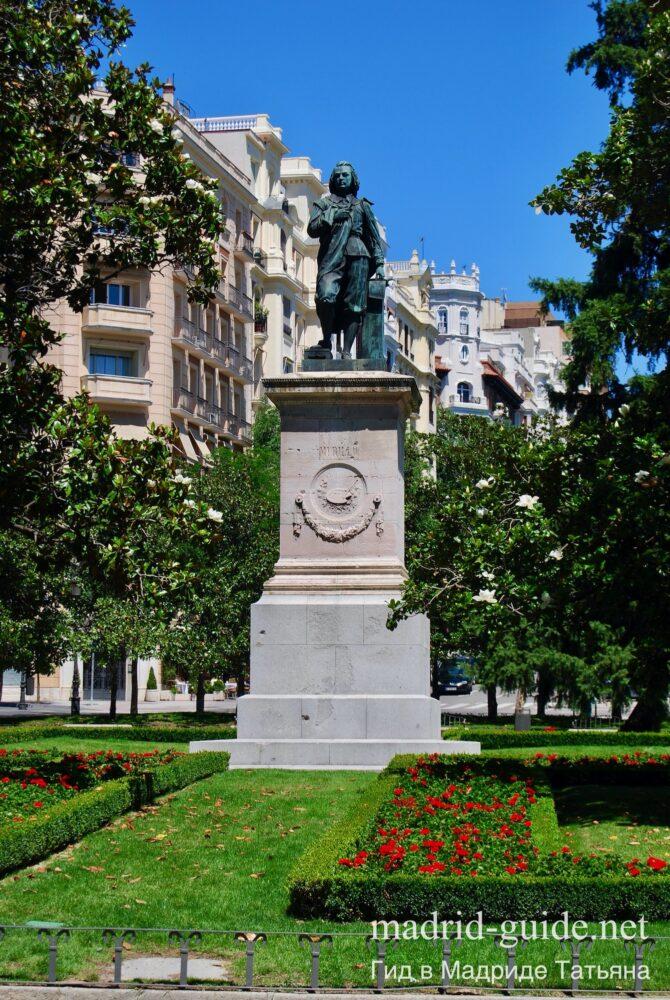 Памятник Эстебану Мурильо в Мадриде