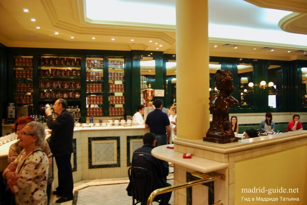 Напитки в Мадриде - шоколадница Сан Хинес
