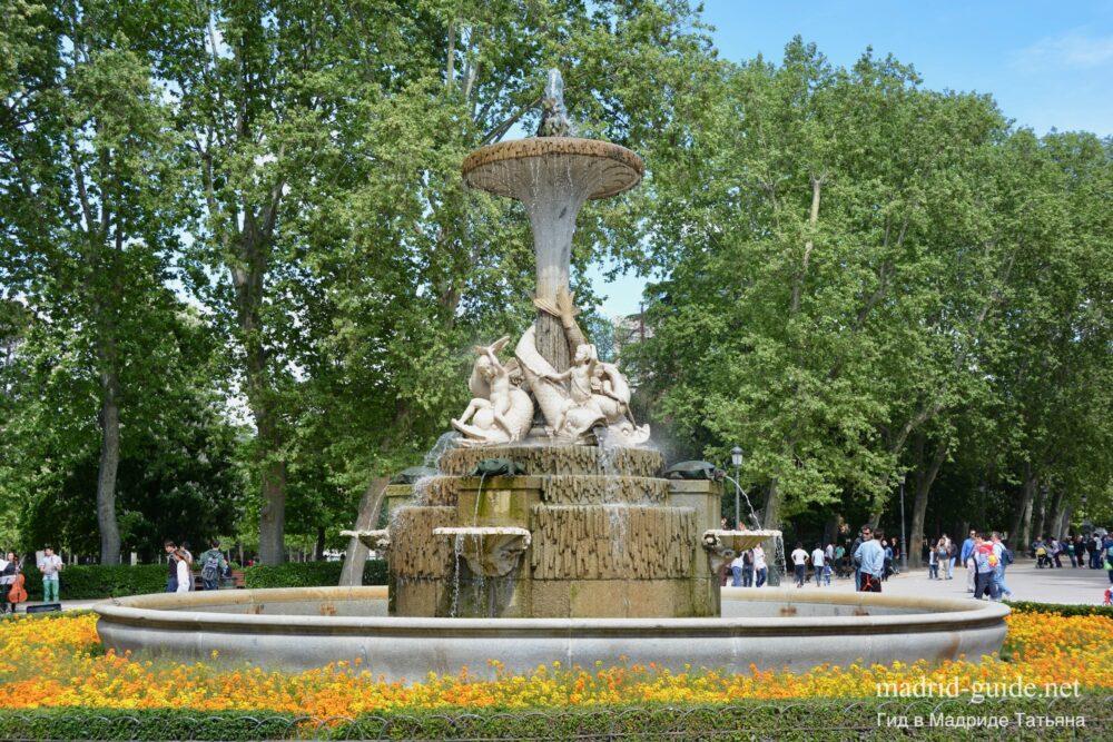 Фонтаны в Мадриде
