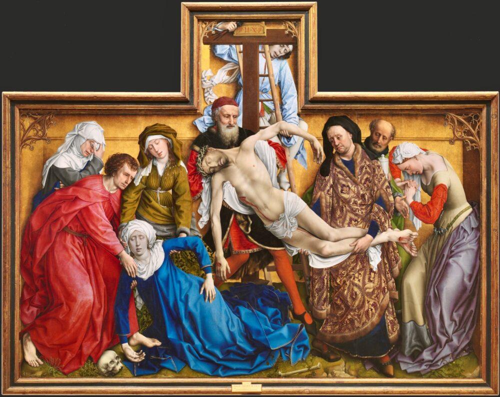 Рогир ван дер Вейден, Снятия с креста
