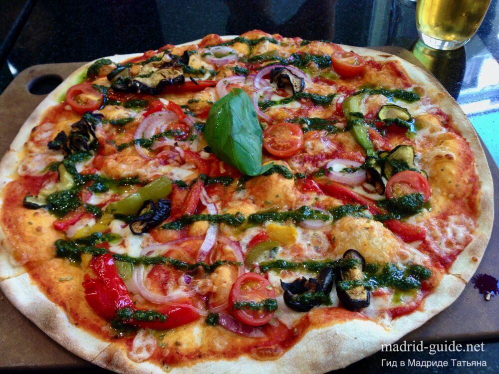 Рестораны в Мадриде - Pizza Emporio Preciados