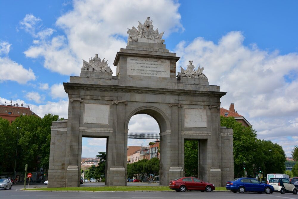 Монументы Мадрида - ворота Толедо