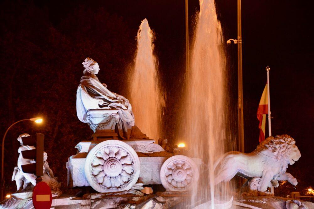 Монументы Мадрида - Фонтан Кибелы