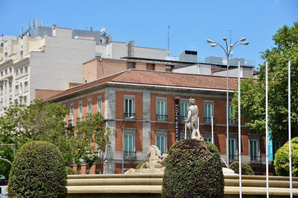 Фонтан Нептуна в Мадриде