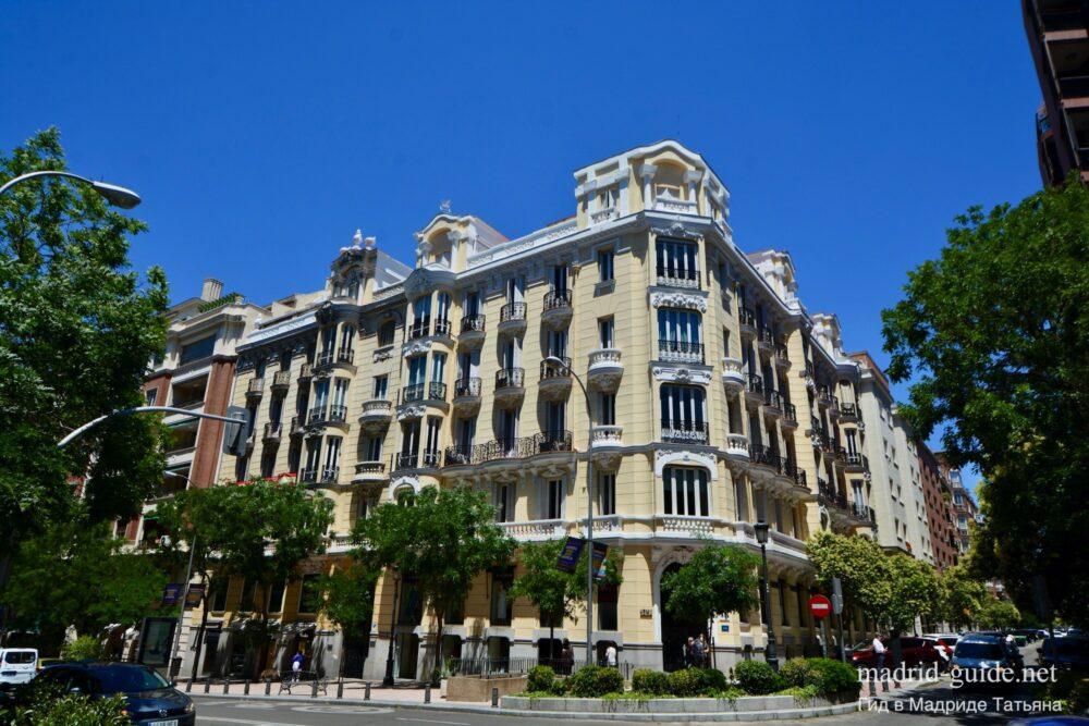 Район Саламанка в Мадриде