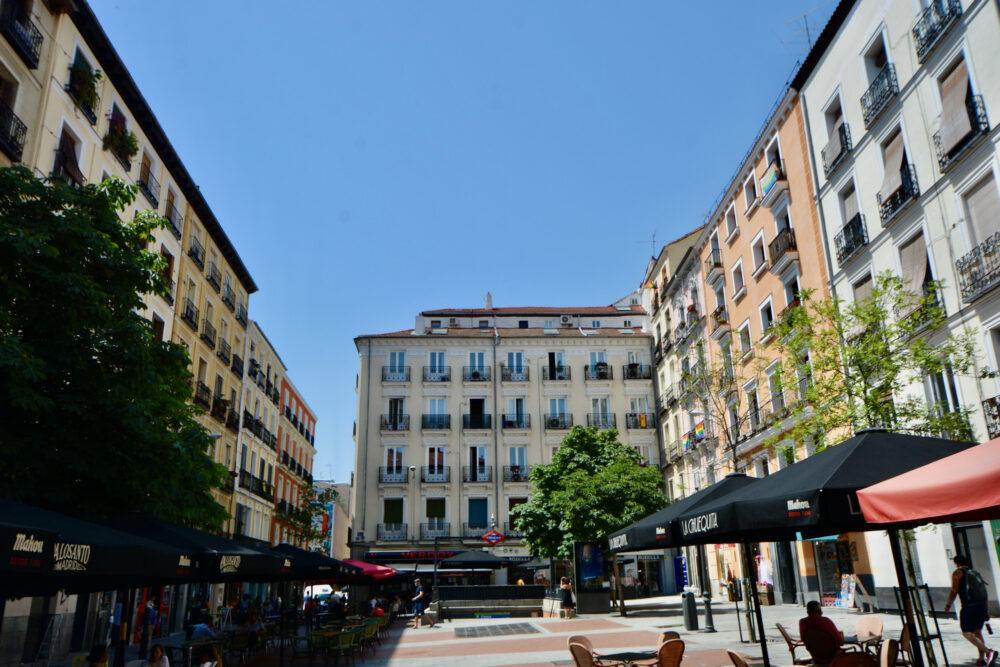 Площади Мадрида - Чуэка