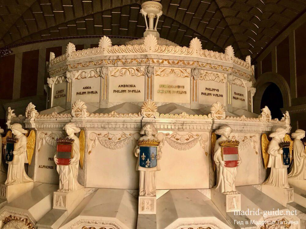 Экскурсия в Эскориал - Пантеон Инфантов