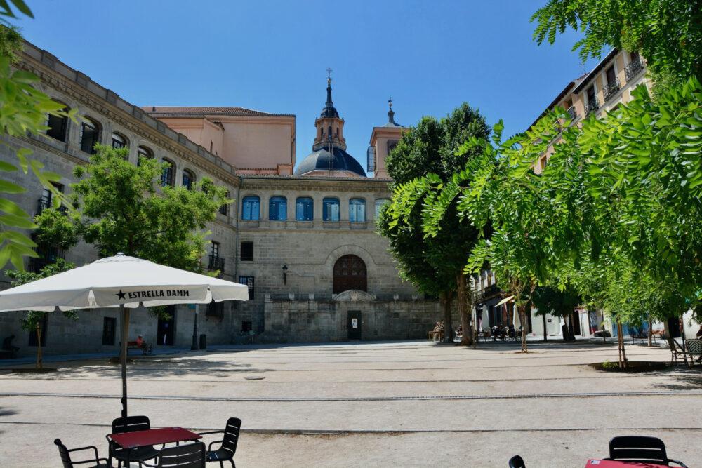 Достопримечательности Мадрида - площадь Ла Паха