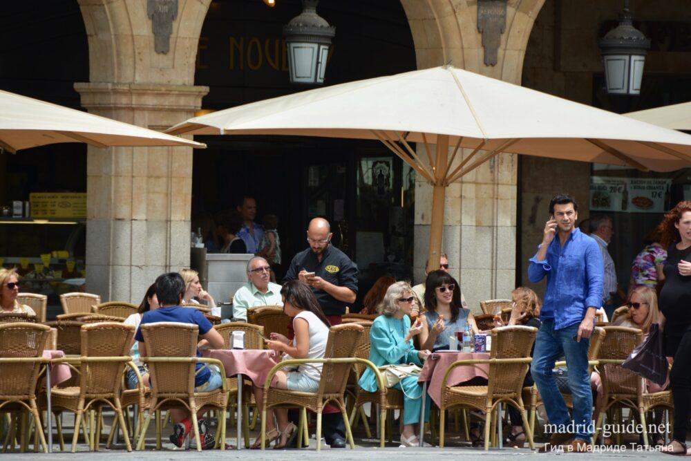 Экскурсия в Саламанку - площадь Майор