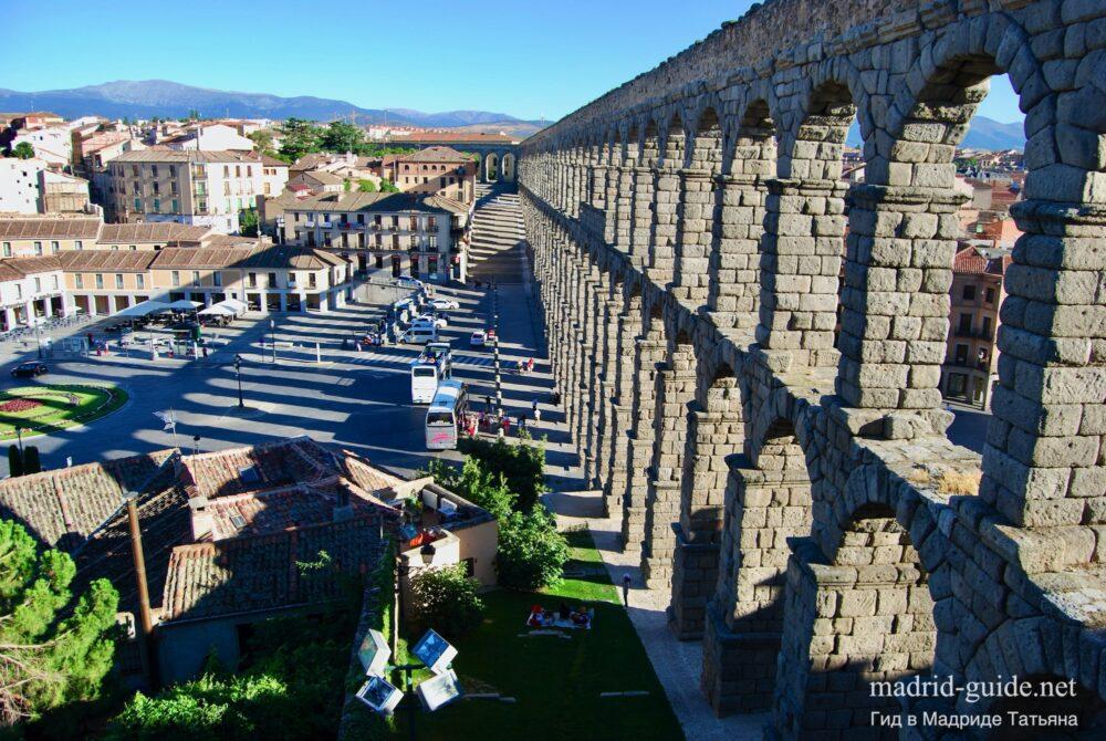 Экскурсия в Сеговию - римский акведук