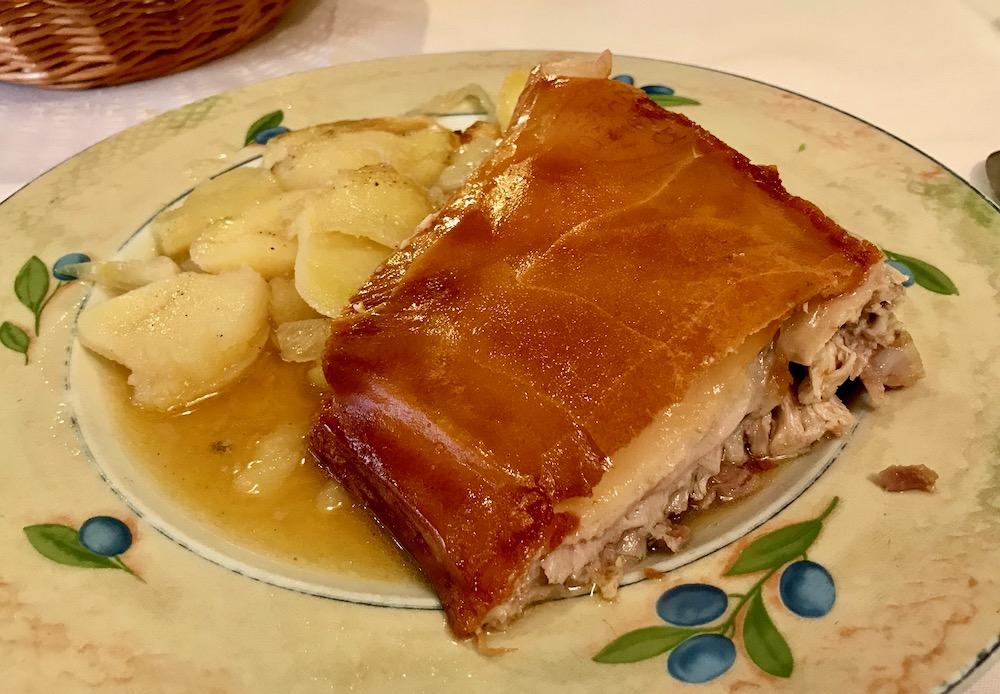 Рестораны в Сеговии - El Bernardino