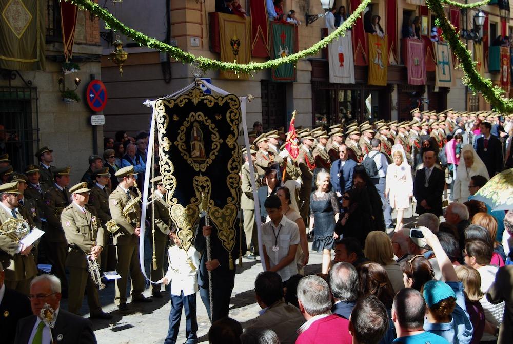 Праздник Корпус Кристи в Толедо