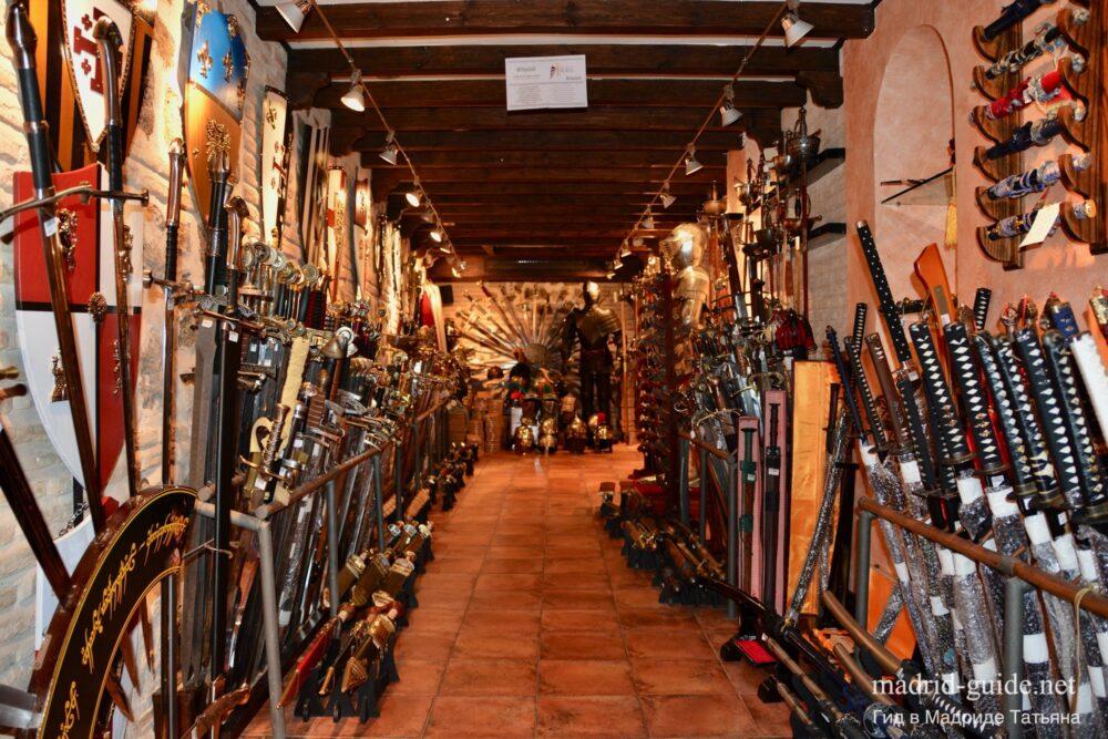 Сувениры в Испании